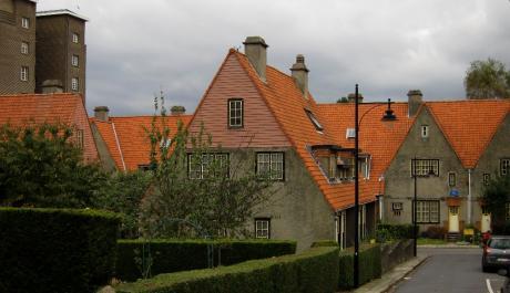Sur les toits de la cité jardin