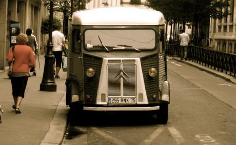 Paris, années 50 en 2010