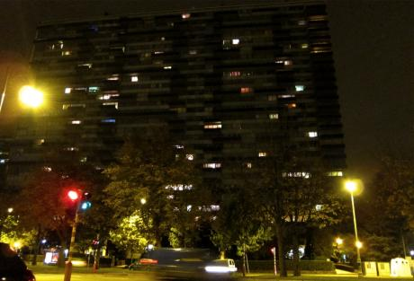 Impression nocturne à Molenbeek