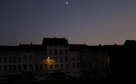 Clair de lune sur Anderlecht