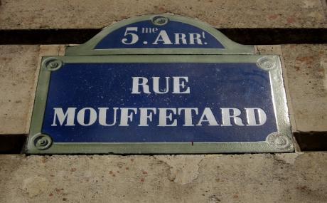 Mythique rue Mouffetard