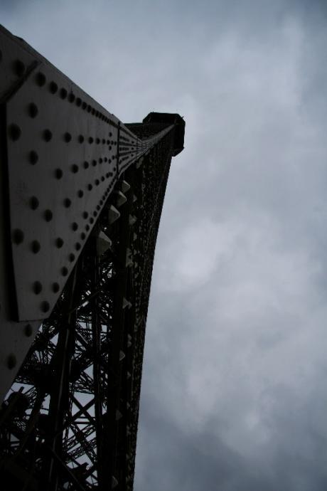 Tour Eiffel, vue du deuxième étage