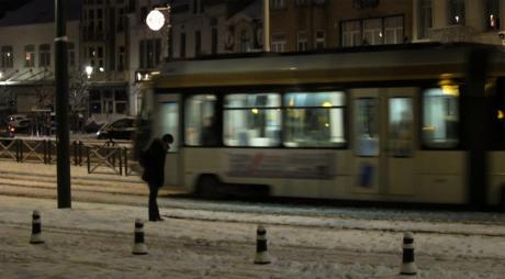 Tram 94 sous la neige (bis)
