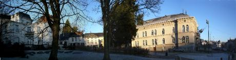 Place Wiener, Boitsfort panoramique
