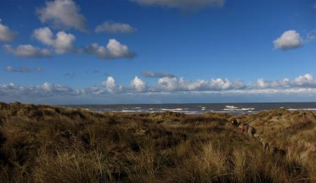 Ciel de mer au premier de l'an