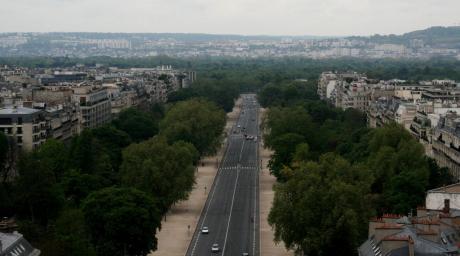 Avenue Foch à Paris