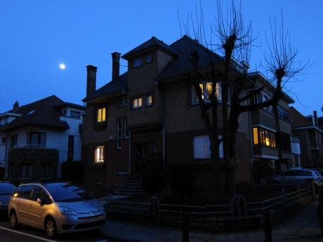 Pleine lune sur Boitsfort