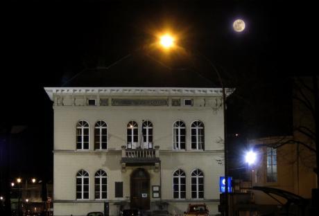Super Lune sur Wiener
