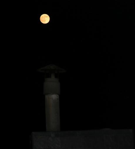 La lune dans le