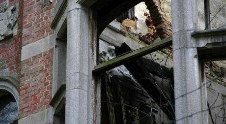 la nymphe veille sur les ruines