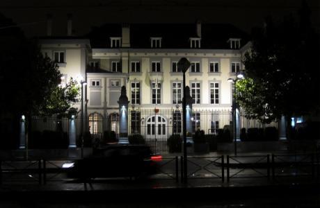 Montesqieu à Bruxelles