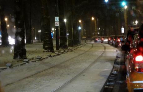 Files de neige