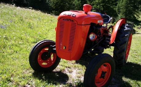 Le vaillant petit tracteur