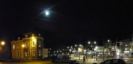 Place Wiener au clair de lune